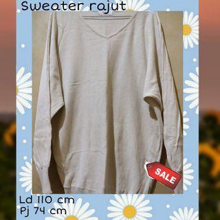 #novjajan Sweater Rajut/Preloved/Thriftshop