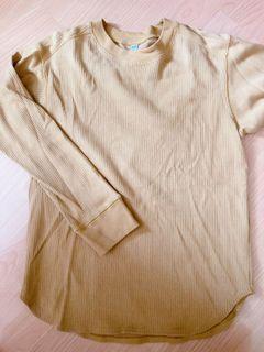 UNIQLO 螺紋長版上衣