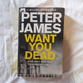 Want You Dead - Novel English Import