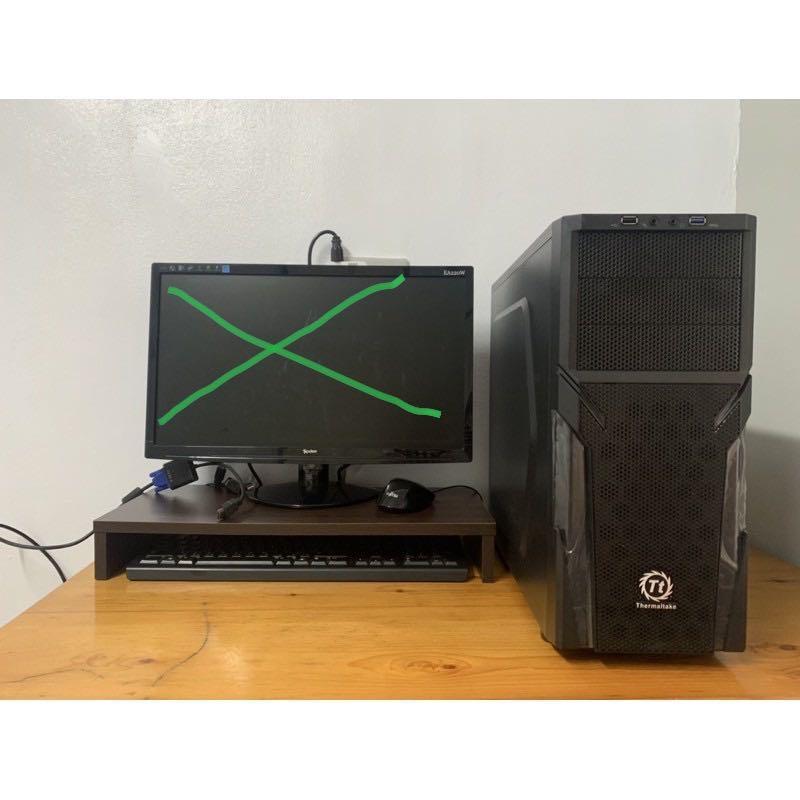 Win10 Intel處理器 文書 遊戲 繪圖主機 桌機 桌電#剁手價