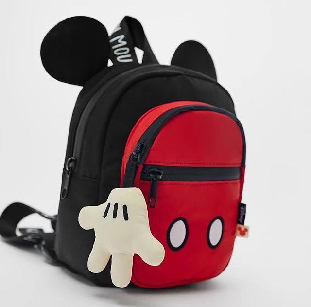 Zara Mickey Backpack