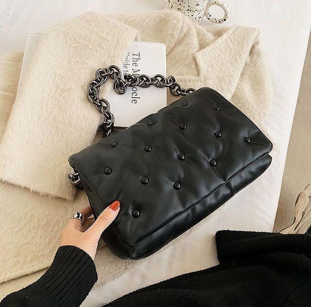 Zara Pillow Chain Bag