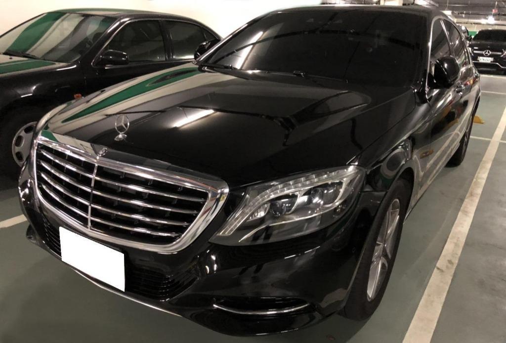 2015 BENZ S400 大老闆氣派首選 原鈑件 售185萬 db