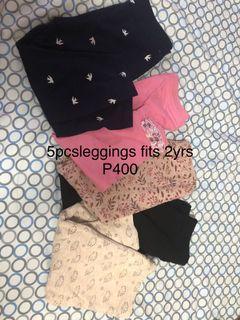 5pcs leggings