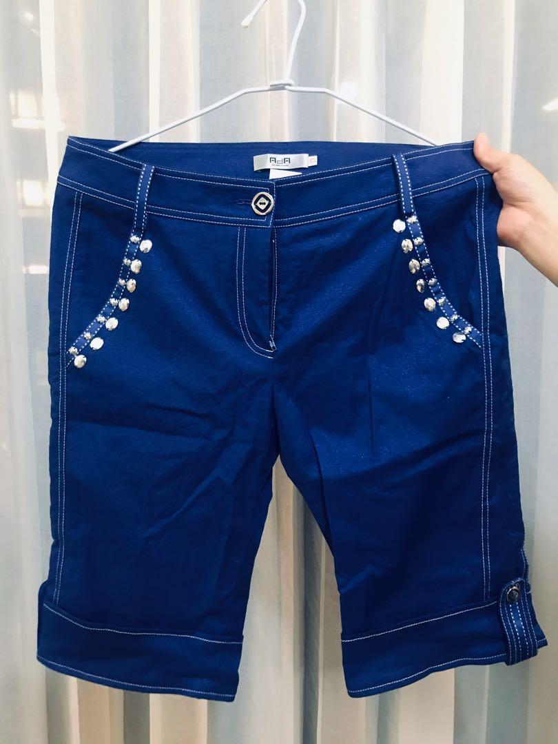 《出清》寶藍色短褲#剁手價
