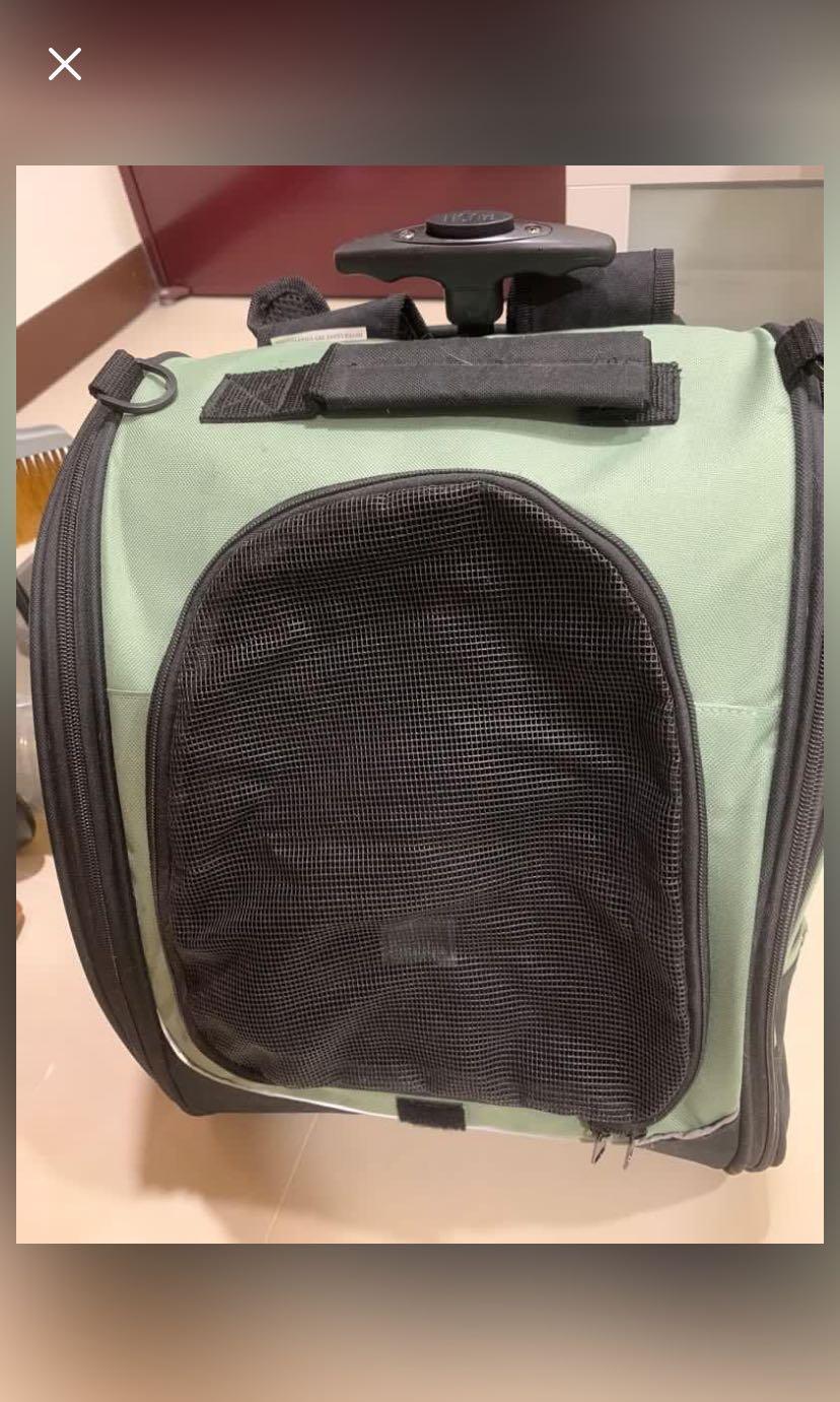 寵物多功能背包推車
