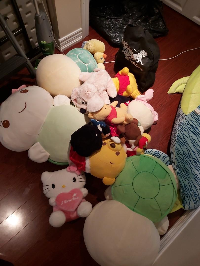 ASSORTED PLUSHIES RANGING FROM $20 TO $50