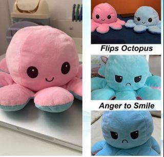 [READY STOCK] Bipolar Flip Octopus Plush