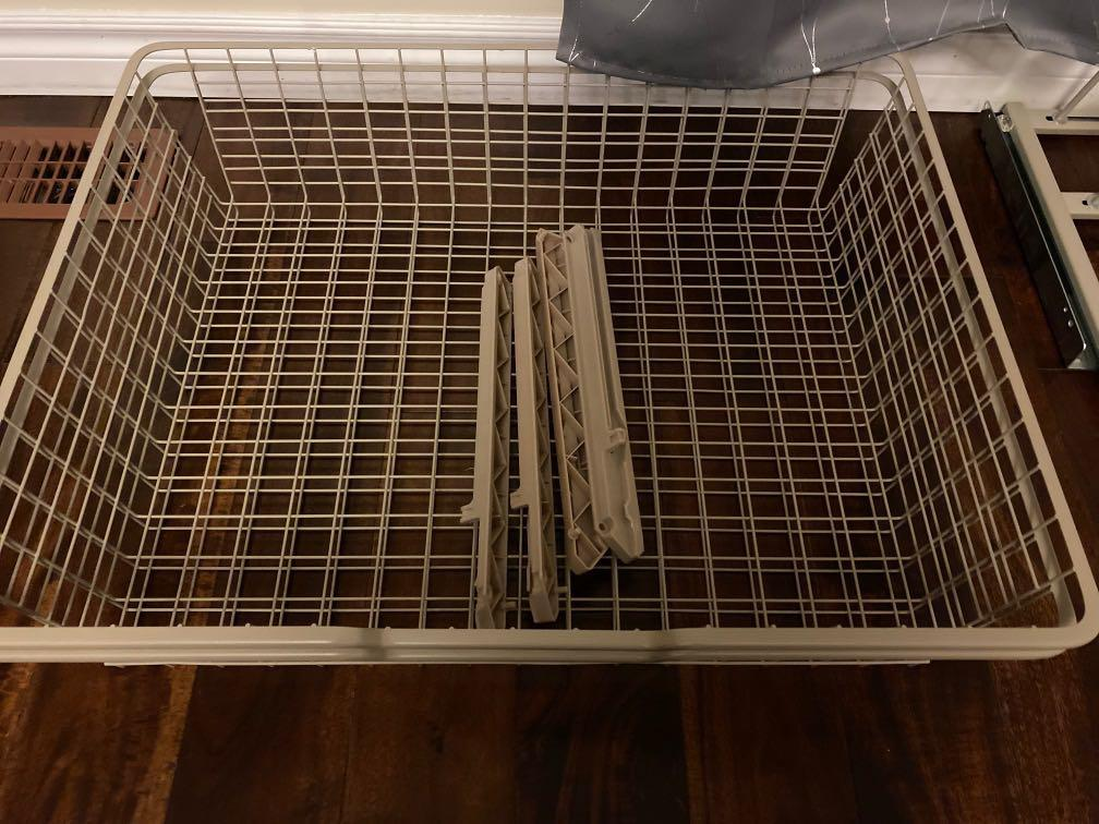 IKEA Wire basket with pull-out rail