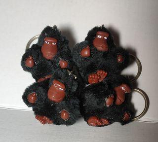 Kipling 正品 猴子 猩猩 吊飾 黑色 送禮