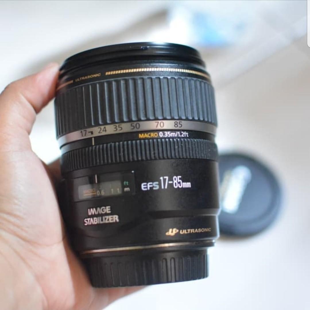 Lensa Canon EF-S 17-85mm 4-5.6 IS USM