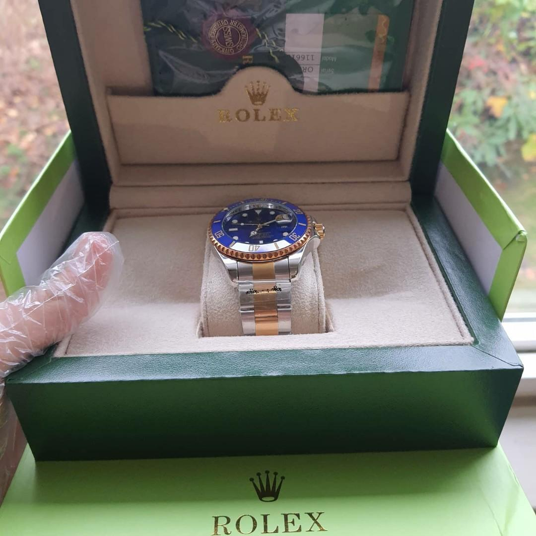 LUXURY TWO TONE IMPORTED WATCH