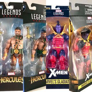 """Marvel Legends Gladiator & Hercules 6"""" Action Figures"""
