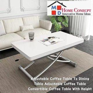 Transforming Table Coffee Dining Furniture Carousell Singapore