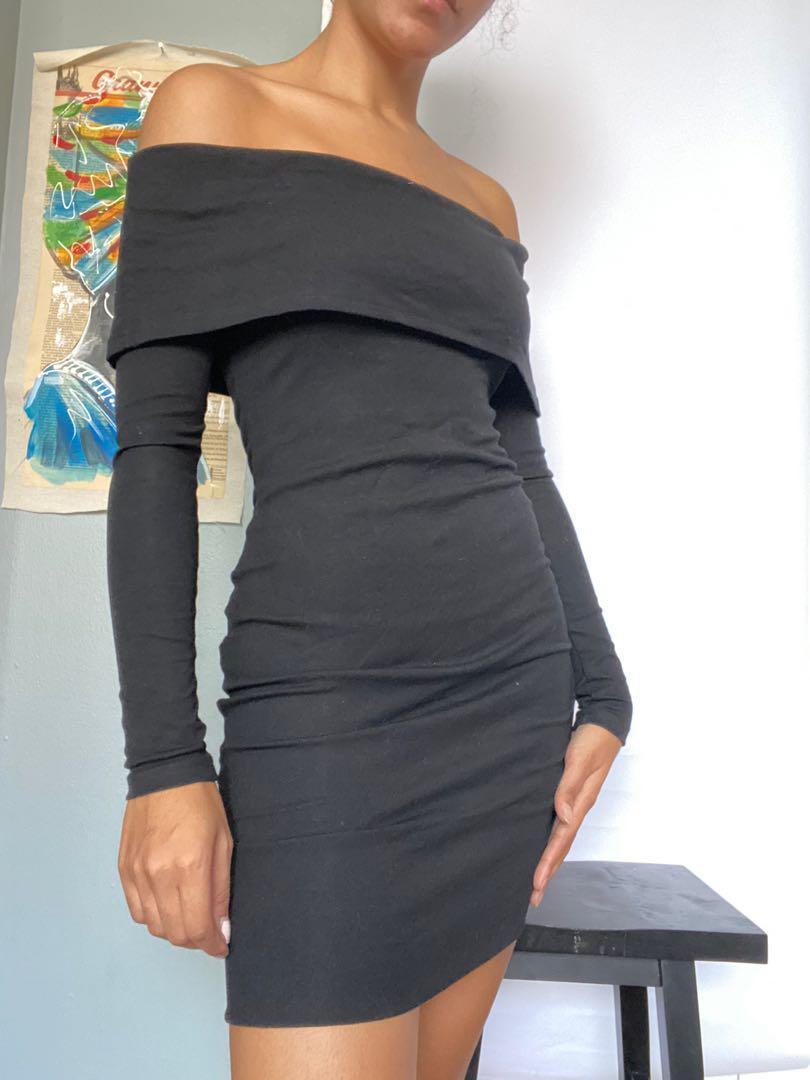 "Princess Polly ""The Wasson"" Black Midi Dress (AU Size 8)"