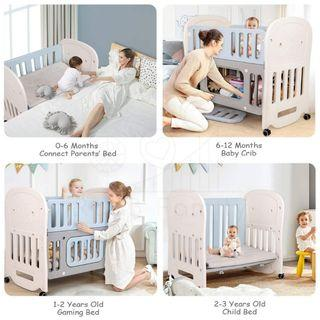 RaaB™ Family Anti-Dust/Bacteria Baby Cot / Cradle Cot / Co-Sleeper