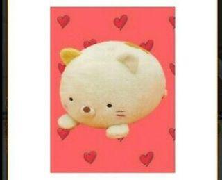 Sumikko gurashi cat laying down Japanese plushy stuffed toy