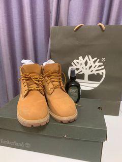 Timberland 二手黃靴