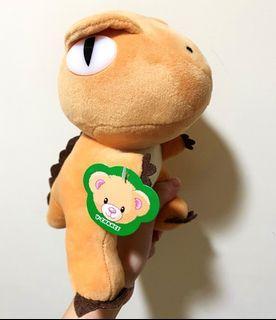 [現貨]V-CHANCE 恐龍  暴龍 玩偶 娃娃 約20公分  #2020掰掰
