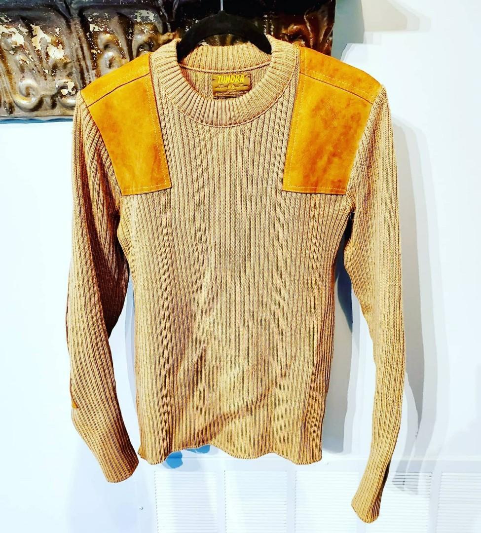 Vintage 70's Tundra Pure Virgin Wool Sweater