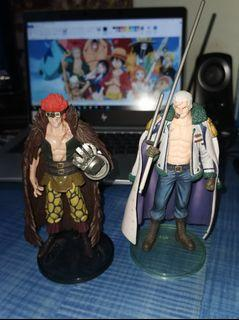 WTS: Old impression One Piece Toy / Figurines (Eustass Kid and Smoker)