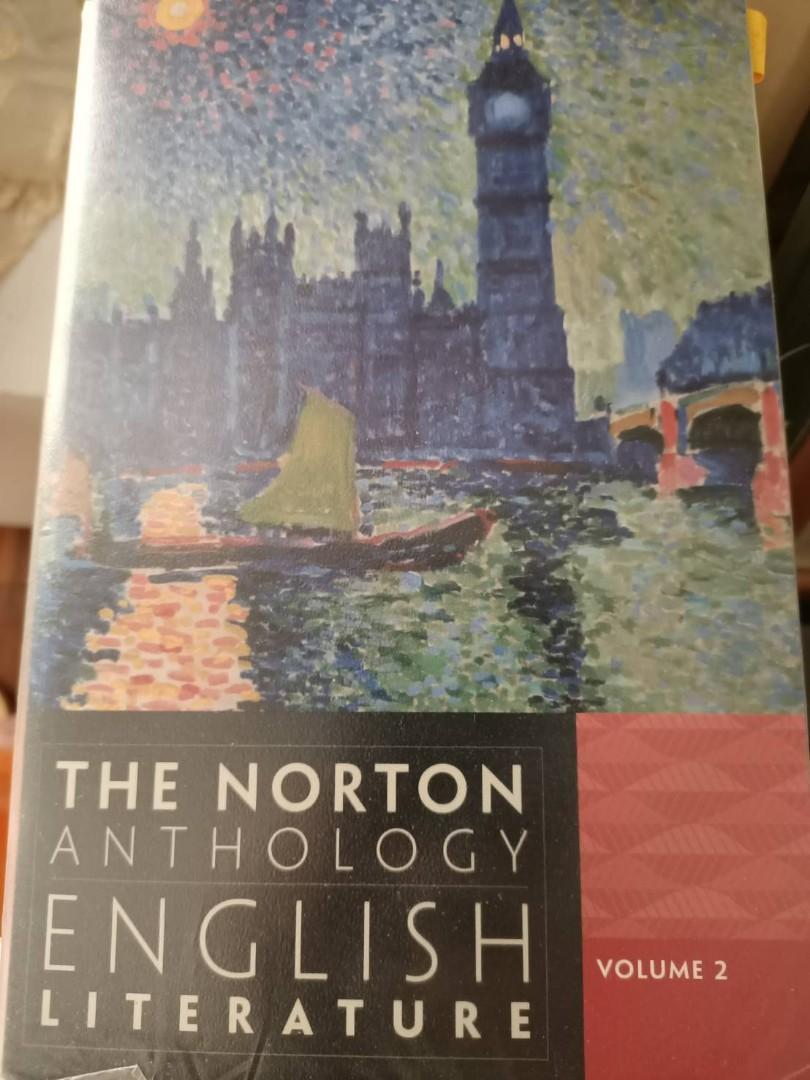 浪漫時期起英國文學(英史2) The Norton Anthology of English Literature, Ninth Edition, volume2