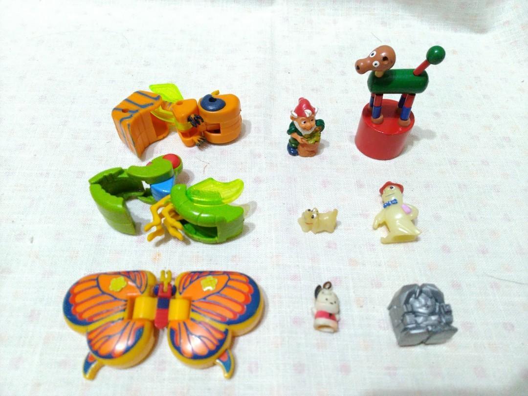 舊玩具公仔 (不需消費可直接索取)