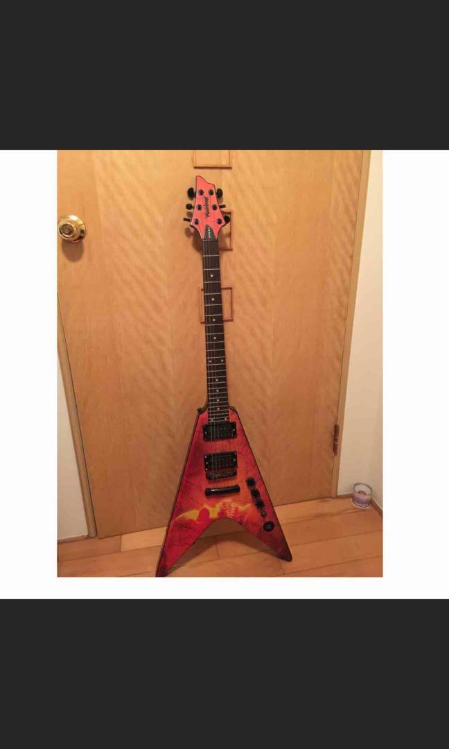 美國大廠  washburn 電吉他