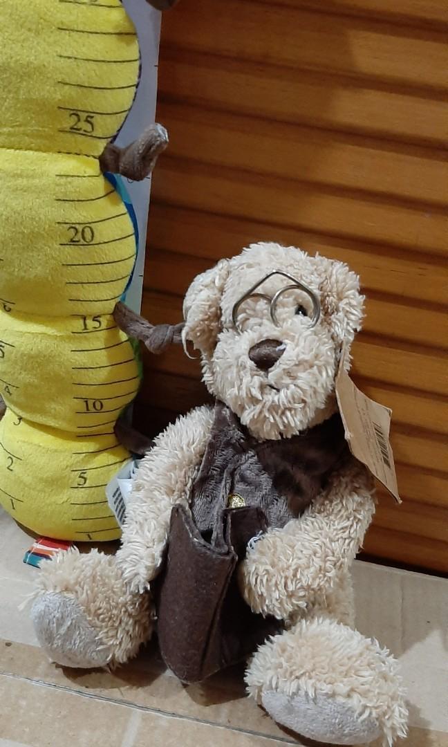 Boneka Teddy Bear kacamata