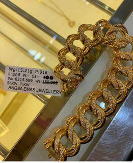 coco bling2 Angsa emas 916