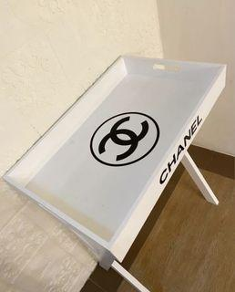 CUSTOMIZE WHITE CHANEL TRAY