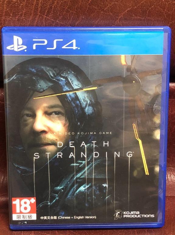 Death Stranding ENGLISH 死亡擱淺 中英文版 PS4 遊戲 二手