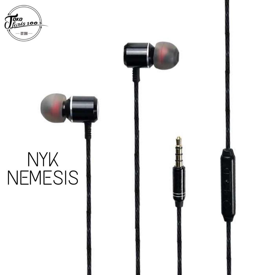 Earphone NYK NEMESIS Oranos Headset Gaming EG-02 Bonus Pouch