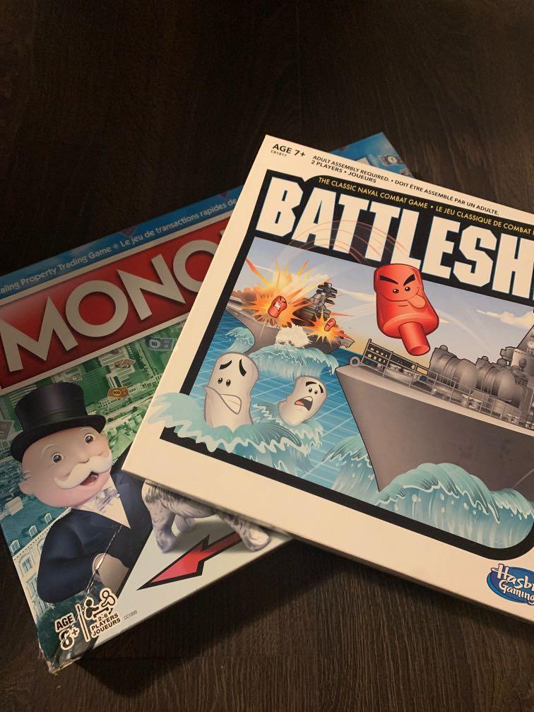 Games night! Monopoly & Battleship