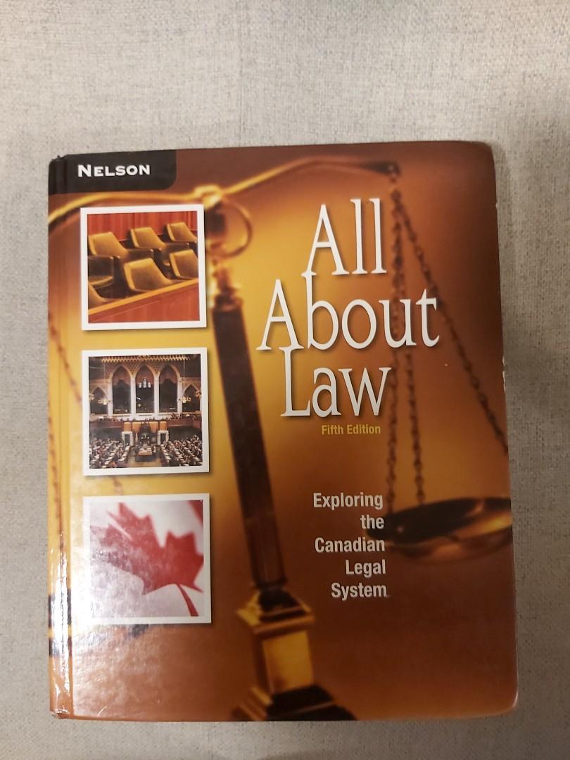 Grade 11 law textbook