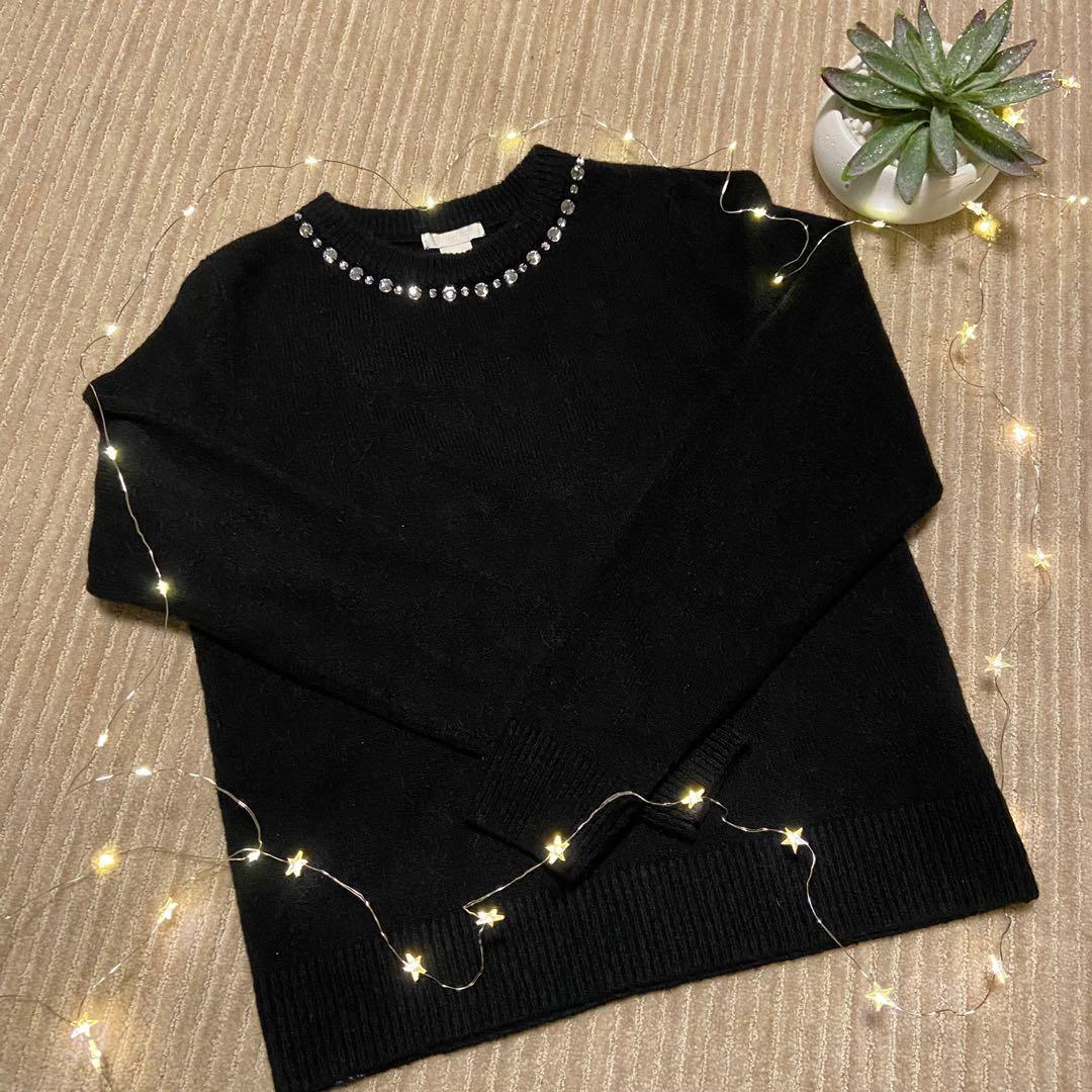 H&M jewelled sweater