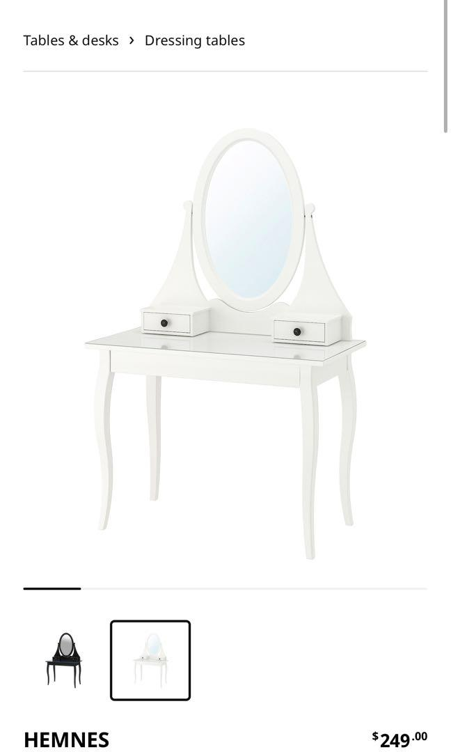 IKEA Dressing table w/f mirror and drawers