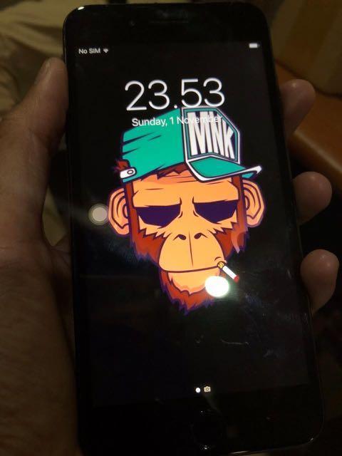 Iphone 7+ Black,Second 128Gb