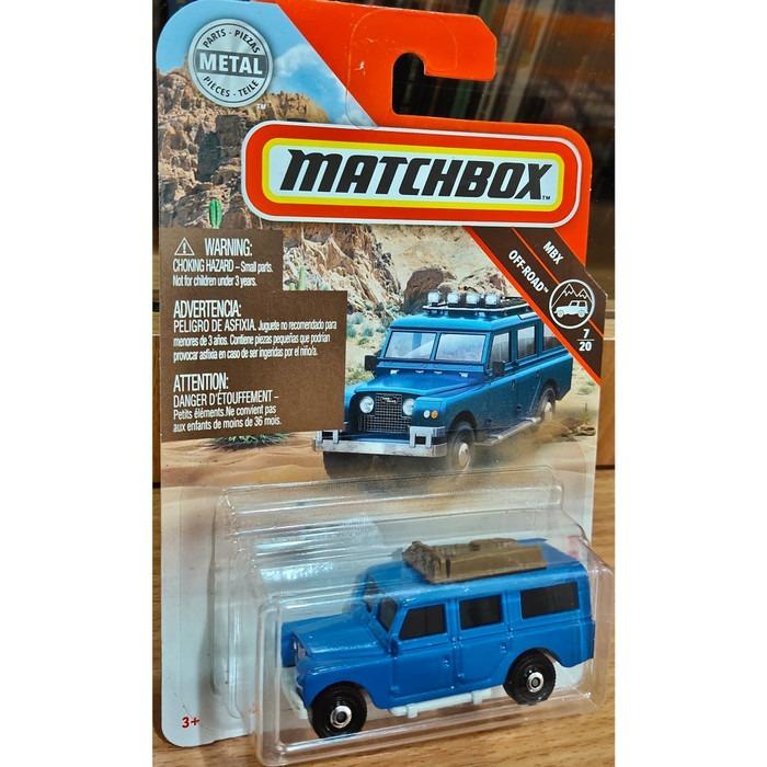 Matchbox - Land rover 65 gen II - Blue
