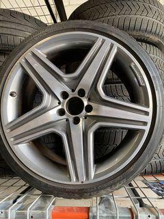Mercedes Benz AMG RIMS & WINTER TIRES