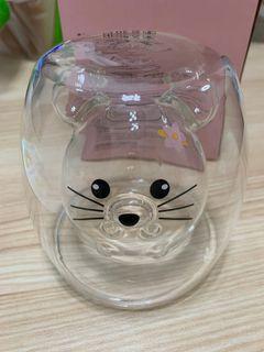 MTR靈鼠雙層玻璃杯
