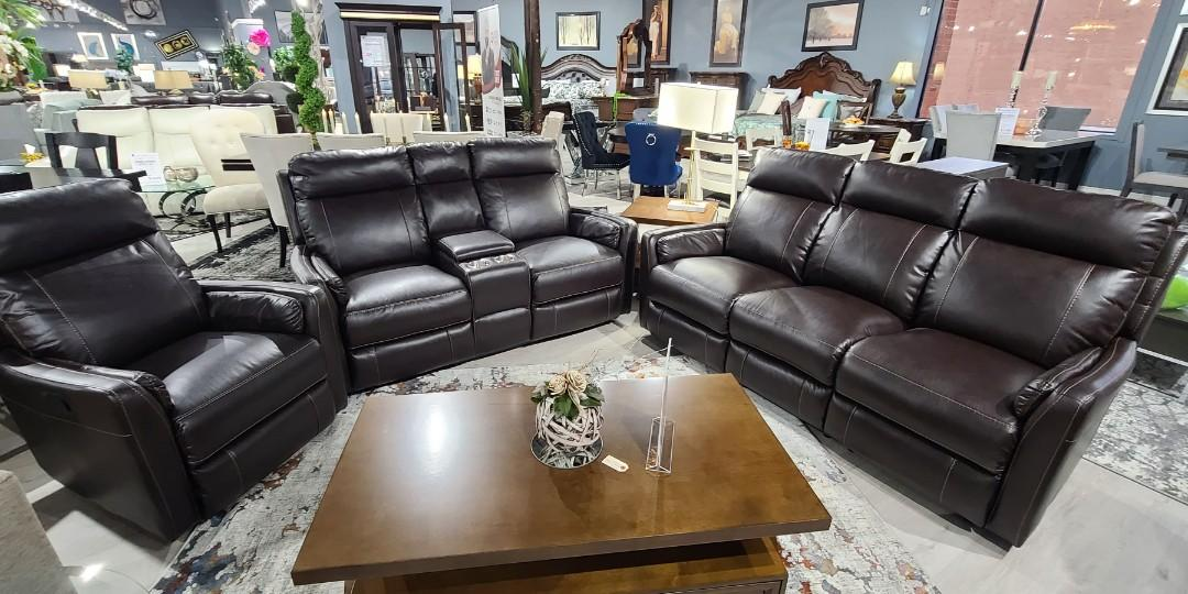 New 3pc super comfortable recliner set with free deliver