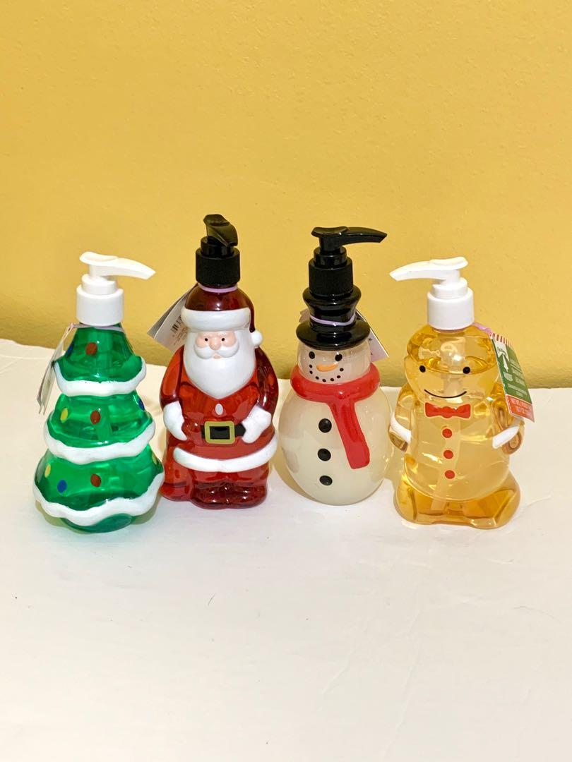 NEW Hand soap in cute Christmas bottles