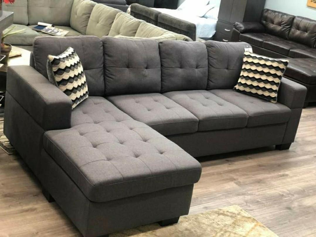 New sectional with free delivery
