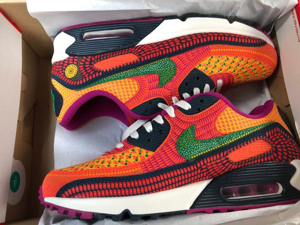 Nike Air Max 90 Day of the Dead, Men's Fashion, Footwear, Sneakers ...
