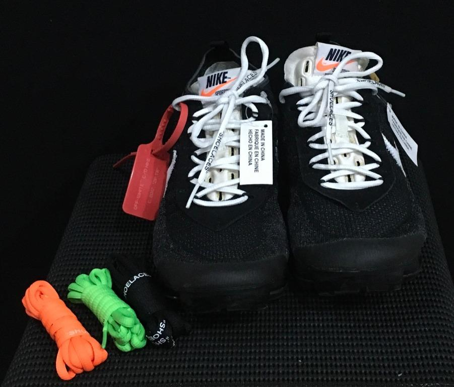 Nike off-White x Air Vapormax Flyknit 2017