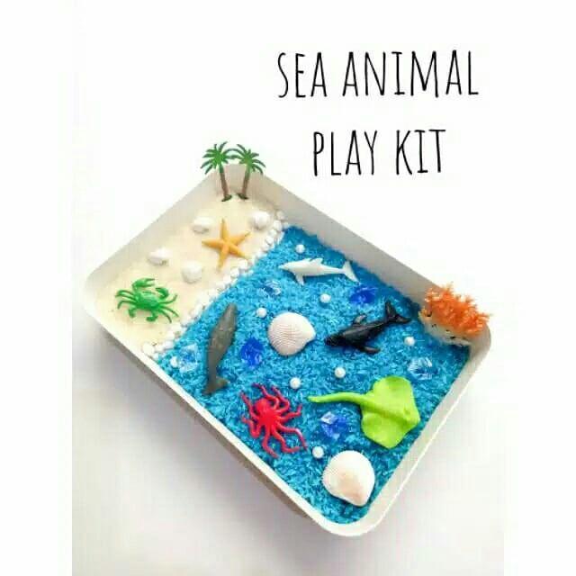 Paket sea animal rice rainbow