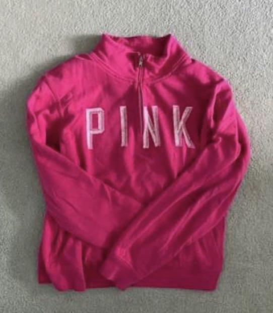 Pink 1/4 zip
