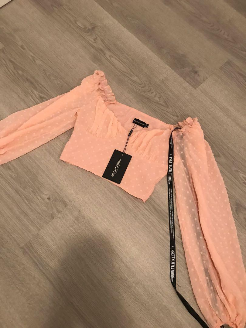 Pretty Little Thing PLT Date Top
