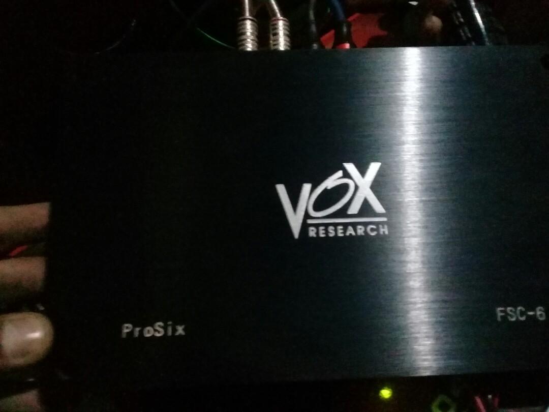 PROCESSOR Research Vox prosix (FSC-6)